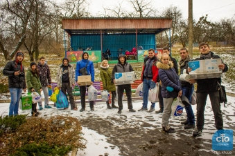 В Харькове прошёл автопробег в детские дома